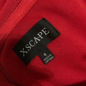 Xscape Dresses - RED JUMPSUIT